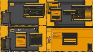 HEAVY EQUIPMENT theme for the windows 7 by ORTHODOXX67