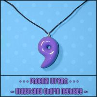 Phoenix Wright Magatama Charm by YellerCrakka