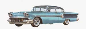 age of chrome and fins : 1958 Pontiac by Peterhoff3