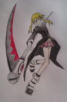 Maka by wingednekoX