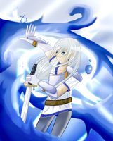 Voenix - Water and Lightning by dreamerswork