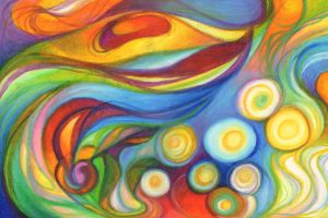 Abstraction of Spirit II by JLGribble
