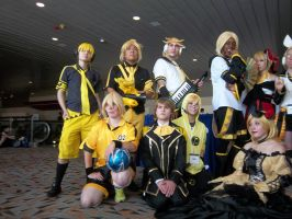 Kagamine gathering part 2 by Mello-chan91