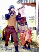 Steampunk Shoot July 2012 #10 by Steampunked-Out