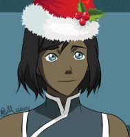 MERRY CHRISTMAS! - Korra (2015) by Artworx88