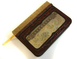 Art Nouveau Leather Journal by McGovernArts