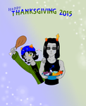 Happy ThanksGiving 2015 by LuckyLadyXandra