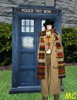 The 4th Doctor by The-Mind-Controller