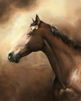 Thoroughbred by howlinghorse