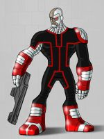 Deathlok Redesign by payno0