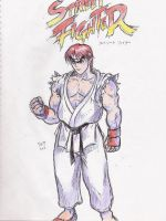 Street Fighter 1 Ryu by Hellstinger64