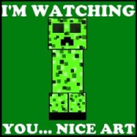 Creeper Watching You by TheIchis