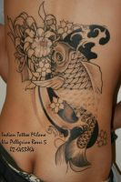 Carpa Giapponese by IndianTattoo