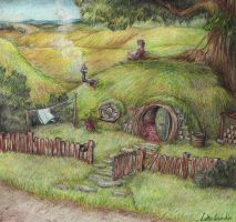 Hobbit Hole by Sherlockian