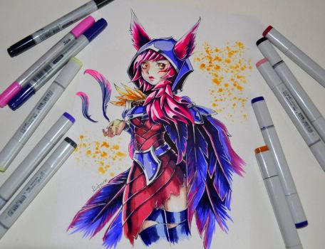 Xayah by Lighane