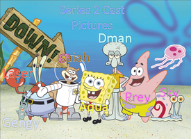 Spongebob Cast Picture/Series 2! by isaiahcow1