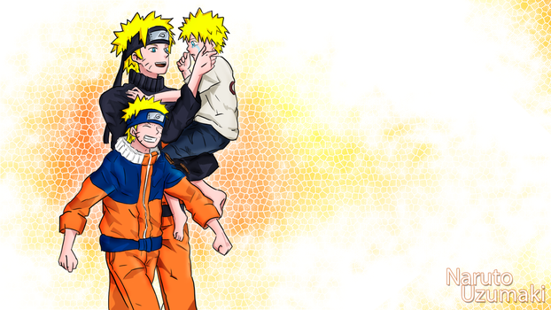 Naruto Team 7 Wallpapers: Naruto by sugushmeaky