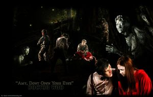 Doctor Who Dont Open Your Eyes by hazelxxx