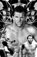 Ryan Bader by ShomanArt
