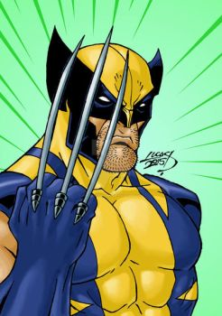 Wolverine COLORED 2015 by LucasAckerman