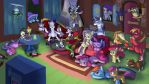 Movie Night Wallpaper by doubleWbrothers