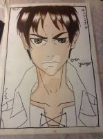 Eren Yeager wip #2 by Black8blood8YoLo