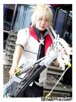 Kingdom Hearts II : Roxas by Bluedknn