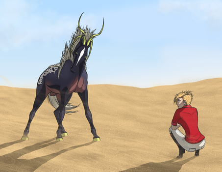 EB Capture Attempt 1  |  The Ghost of Desert by IndigoCharger
