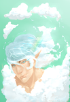 Sky and Water God by Nightris
