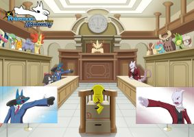 [Crossover] Pokemon Ace Attorney by Color-Arcano