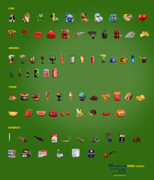Icons for games by Deedman