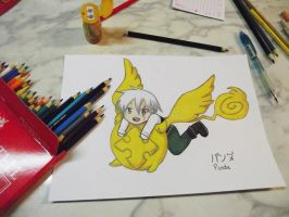 Allen and Timcanpy - painted by nyanperona-chu