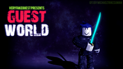 Roblox GFX : Guest World by Zelvo