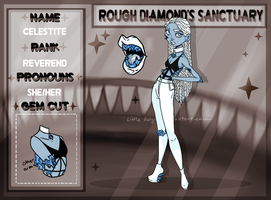 Celestite App: Rough Diamonds Court by WytchHazel