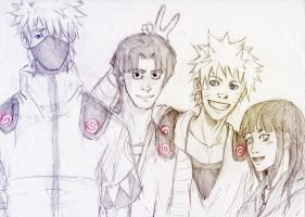 Team 7 AU by Sanzo-Sinclaire