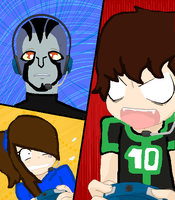 Danny, Ben and Rook! [Games] by RubytheCat12