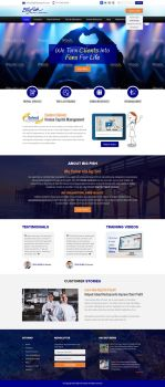 Big Fish Payroll Website Design by shoahmed