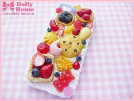 iPhone 5 case Sweets Symphony by Dolly House by SweetDollyHouse