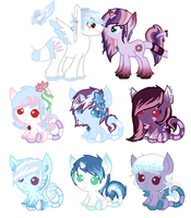 Foals for xbluexmoonx CLOSED by Amy-defy