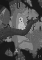 Kodama in the Branches - DEBATE Magazine by TylerHinde