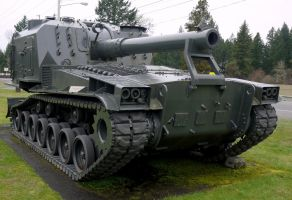 M-55 8in Self Propelled Gun by shelbs2
