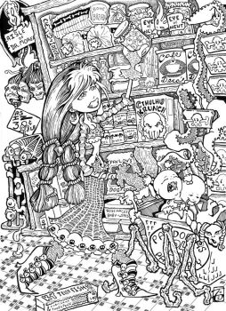 Pandora's Pantry by theinkhead by Lucid-Dreamers