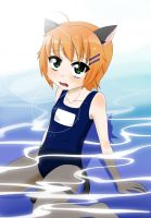 water kitten? by SupTomat