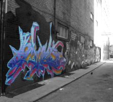 Toronto Colourful Graffiti by ForTheNights94