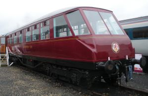 BR Gresley Observation Car at Railfest 2012 by rlkitterman