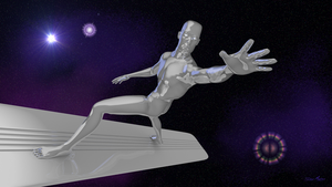 Silver Surfer by RayMontes