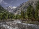 The river and the peak [hdr] by bellaricca