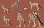 ENCORE- Daryl Character Sheet by Malbet