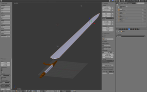 Claymore - the sword - WIP 2 by desprosal