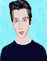 Troye sivan pen and color work by daylover1313